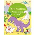 Dinossauros - Vamos Pintar e Colar?