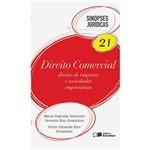 Direito Comercial: Direito e Empresa e Sociedades Empresárias - Sinopses Jurídicas 21