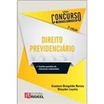Direito Previdenciario - Concurso Descomplicado - Rideel