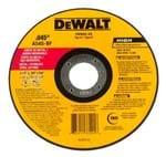 """Disco Abrasivo Corte Fino Metal / Inox Dewalt DW8062 4 1/2"""" X 1,0mm X 7/8"""" DW8062"""