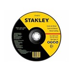 Disco Corte Stanley 4.1/2 X 1.0 X 7/8 Aço Carbono/Inox