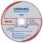 Disco de Corte de Alum Organico SAW-MAX - Cod SM510 - Dremel