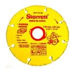 Disco de Corte de Tungstênio 110x20mm - DCT110-20 - Starrett