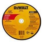 "Disco de Corte Metal DW80143 /Inox 14""X2,5mmX1"""