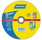 Disco de Corte Norton Super Aço 115x3,0x22,22 AR312 66252842987