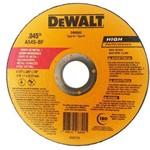 "Disco de Corte para Metal e Inox 4. 1/2"" X 1,0 X 7/8"" Mm - Dewalt"