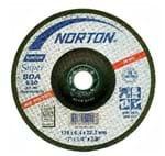 """Disco de Desbaste Inox 7"""" Norton 177,8x6,4x22,22mm - BDA630 66252842944"""