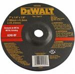 """Disco de Desbaste para Ferro 7"""" X 7/8 - Dw44580 - Dewalt"""