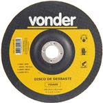 Disco de Desbaste para Metal 180 X 6,4 X 22,23 Mm - Vda-60 - Vonder