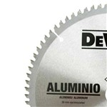 Disco de Serra 12 Pol Alumínio 80 Dentes Dewalt Dwa03230