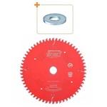 Disco de Serra 250mm 80d P/mdf LP67M-002 Freud + Bucha de Redução 30x5/8 002266 Universal