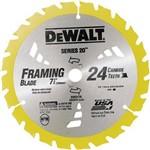 Disco de Serra 7. 1/4 X 24 Dentes X 20 Mm Dw3178 Dewalt