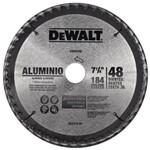 Disco de Serra Circular 185 X 25 para Alumínio / Madeira 48 Dentes - Dw-03200 - Dewalt