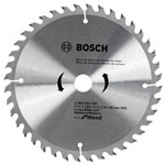 Disco de Serra Circular Bosch Madeira 40 Dentes 184mm X 20mm