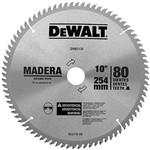 Disco de Serra para Madeira 10 X 30 X 80 Dentes - Dw-03130 - Dewalt