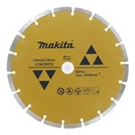 "Disco Diamantado 9"" - Segmentado - D-44292 - Makita"