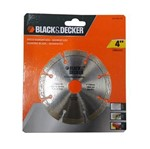 "Disco Diamantado Segmentado 4"" (105Mm) - Bd47402L-Br - Black&Decker"