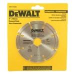 "Disco Diamantado Segmentado 4"" 105Mm - Dw47402B - Dewalt"