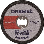 "Disco EZ-476 Plástico 1-1/2"" Dremel 5 Unidades"