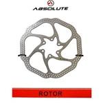 Disco Inox Freio Rotor Yrt01 160mm 6 Parafusos Absolute Mtb