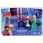 Disney - Frozen - Glitter Glider Anna, Elsa e Olaf - Mattel CBM27