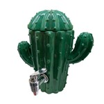 Dispenser Cerâmica Cactus Verde 1800 Ml