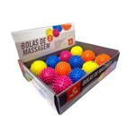 Display 12 Bolas Cravos Massagem Relax Ball ACTE SPORTS T62