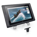 Display Interativo (mesa Grafica), Wacon, Cintiq, 21.5, Full Hd, Caneta Grip Pen, 10 Nibs, Suporte