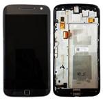 Display Touch LCD para Motorola Moto G4 Plus XT1640 com Aro Preto - Usada