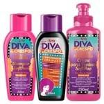 Diva de Crespo Soft Poo Niely - Shampoo + Condicionador + Creme para Pentear Kit