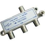 Divisor Antena Vhf/Uhf/Catv 1/3 Pqdv-1023 Proeletronic