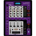 Dj Mixer com 5 Canais, 1 Usb Mp3, 1 Usb Interface In/out Waldman Rdj-5.2usb