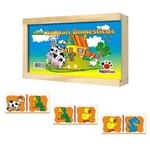 Domino Educativo Animais Domésticos
