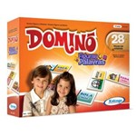 Domino Figuras e Palavras Xalingo