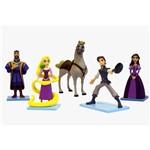 Domo com Figuras Rapunzel