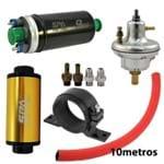 Dosador Hpi V3 + Suportes + Filtro de Combustível + Bomba Elétrica 9bar + 10M Mangueira Prata(VLRPSH01SL-FTISCB03-SALSBC01P-SAL - Confira Especificações
