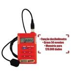 Dosímetro de Ruido Decibelímetro Sonometro Audiodosímetro Sem Certificado Dos-600 Instrutherm