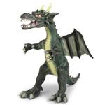 Dragão Verde Grande 44cm - Dtc 3837