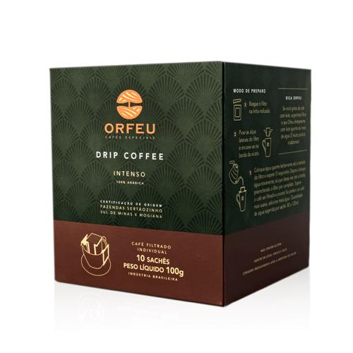 Drip Coffee Orfeu Intenso | 10 Sachês 001693