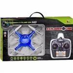 Drone Art Brink Explorer Cam 2.4g Grava em Tempo Real