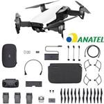 Drone Dji Mavic Air Fly More Combo 3 Bat Branco ANATEL