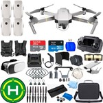 Drone Dji Mavic Platinum Super Combo Pro 4 Baterias (total) + Kit 64gb Case