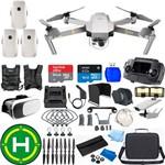 Drone Dji Mavic Pro Platinum 3 Baterias (total)super Combo 64gb Case Profisional Cp.pt.00000071.01