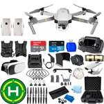 Drone Dji Mavic Pro Platinum Super Combo 2 Baterias(total) 64gb Case Lentes