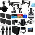 Drone Kit Segurança Industrial Inspire 1 + Câmera Térmica Dji Zenmuse Xt Kit 4 Baterias Hub Tablet