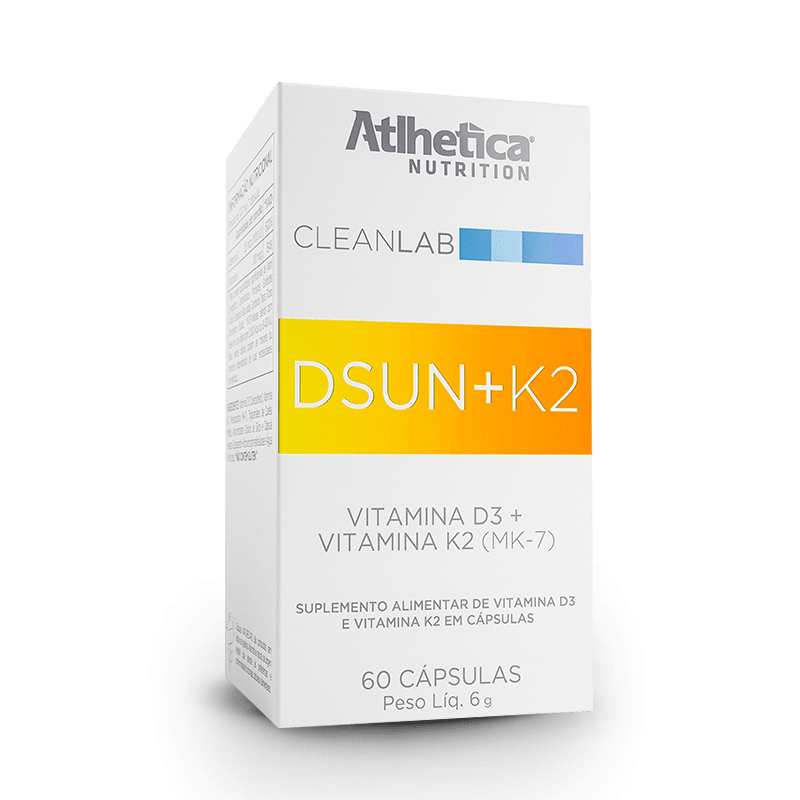 DSun + K2 (60 Caps) - Atlhetica Nutrition