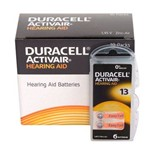 DURACELL ActivAir - Modelo 13 / PR48 - Mercury Free - para Aparelho Auditivo