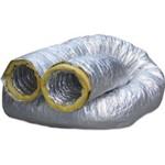 Duto Flexivel Aluminizado Isolado (Rl. C/6 Mts)