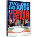 DVD - 50 Anos de Jornalismo TV Globo