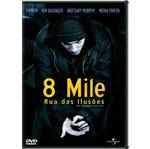 DVD 8 Mile - Rua das Ilusões